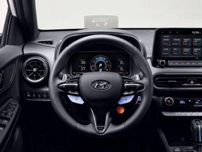 Volant nového modelu Hyundai KONA N.