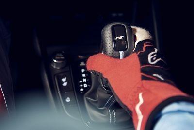 Radiaca páka N DCT nového modelu Hyundai KONA N.